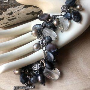 Silpada shades of grey bracelet